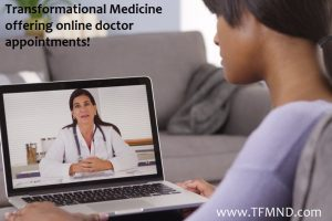 Online Doctor Visits available at TFMND.com